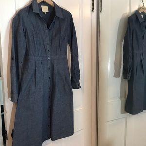 Denim ModCloth dress excellent condition S